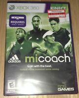 MICOACH KINECT - XBOX 360 - COMPLETE WITH MANUAL - FREE S/H - (G3)