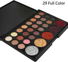 Glitter 29 Colors Eye Shadow Palette Professional Eye Cosmetic Tool Kit New