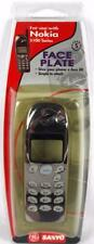 GE Sanyo Nokia 5100 Cellphone Face Plate w/ Buttons GES-TELNO6F1 Bl Chrome NOS