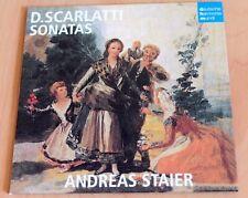 Andreas Staier - Domenico Scarlatti - Sonatas - Clavecin - CD Deutsche Harmonia