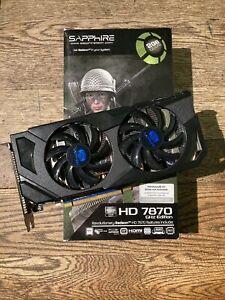 Sapphire AMD Radeon HD 7870 GHz Edition Graphics Card 2GB GDDR5