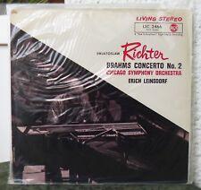 LIVING STEREO LSC 2466 SEALED  Brahms Konzert Klavier Orchester Nr.2  Richter
