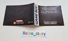Nintendo Game Boy Video Compact Notice / Instruction Manual