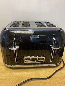 breville toaster 4 slice Black