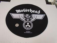MOTORHEAD Ace of Spades Bomber Lemmy Round LARGE Logo SEW ON BACK PATCH NEW