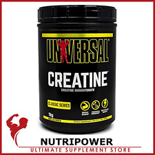Universal Nutrition monohidrato de creatina 100% Puro Micronizado 300g 500g 1000g