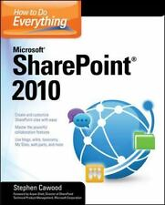 How to Do Everything Microsoft SharePoint 2010 by Stephen Cawood (2010)