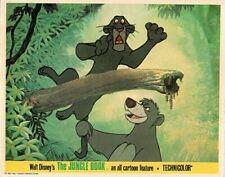 Walt Disney The Jungle Livre Original Lobby Carte Baloo Avec Bagheera Panther