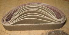 "10pc 3/4 x 12"" 180 grit X65 Norax sanding belts for Ken Onion knife sharpener"