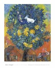 Autumn in the Village by Marc Chagall Art Print Museum Landscape Poster 32x26