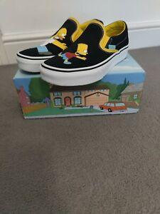 Vans X Simpsons Size 4