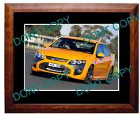 2008 FORD FPV F6 (YELLOW) LARGE A3 PHOTO 1