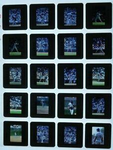 JTM3-13 1980s BASEBALL New York Mets Cubs Gooden Strawberry 80 ORIG 35mm Slides