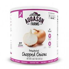 Augason Farms Emergency Food Dehydrated Chopped Onions Kit 5-12000 Big #10 Can