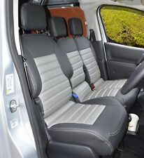 Peugeot Partner 2nd Generation Waterproof Tailored Quilted Seat Covers 2008+