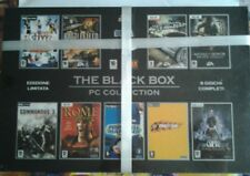 9 GIOCHI COMPLETI-THE BLACK BOX - Pc collection- EDIZIONE LIMITATA-EA SEGA EIDOS