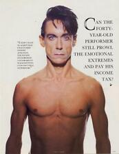 Iggy Pop 'The Face' Interview