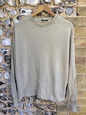 MENS CP COMPANY LIGHTWEIGHT SWEATER SIZE XL SAND JUMPER TOP CASUAL SI