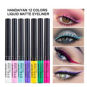 Lady Liquid Eye Liner Colorful Pearl Matte Waterproof Eyeliner Women Eye Makeup