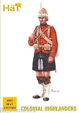 Cappello 8202 GUERRE COLONIALI Highland FANTERIA. 48 x 1/72 SCALA FIGURE IN PLASTICA