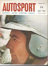 Autosport 9th septembre 1966 * Jack Brabham World Champion *