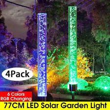 Solar Spot Light Outdoor Garden Lawn Landscape LED Spotlight Path Lamp colorful