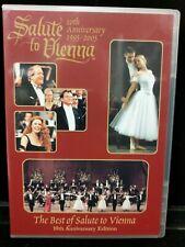 Used Salute to Vienna: A Strauss Gershwin Gala DVD 2004 Lot M28-K