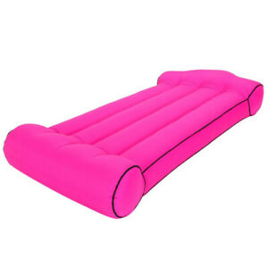 Summer Portable Inflatable Mattress Outdoor Beach Lazy Sleeping Bag Bed Super