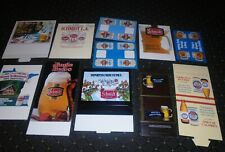 Lot of 11 Schmidt Beer Vintage Table Tents, Minnesota