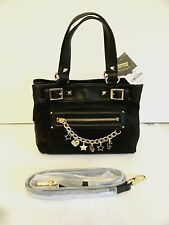 Juicy Couture Brentwood Small Daydreamer Handbag With Charms Black BNWT