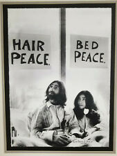 John Lennon and Yoko Ono Limited Edition Litho- Give Peace A Chance 129/500
