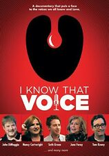 I Know That Voice (2014, DVD New)