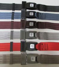 """2 Point Non Retractable Lap Seat Belt Universal Fit Seatbelt: Select Color, 74"""""""