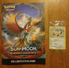 Pokémon Sun & Moon Burning Shadows Collectors Album + Trading Card