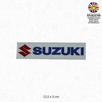 SUZUKI Car Brand Logo Patch Iron On Patch Sew On Embroidered Patch