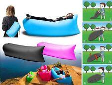 Air Sofa Bag Lamzac ,Inflatable Lounger Beach Bed Lazy Chair Camping Hiking