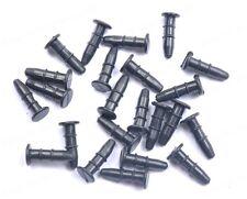 100pcs Black Rubber Anti Dust Earphone Jack Plug Stopper Cap For iPhone BE1725