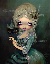 Jasmine Becket-Griffith art print SIGNED Marie Masquerade antoinette queen pop