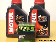 Motul 7100 4T 15W-50 vollsyn / Ölfilter KTM 450 SX-F , XC-F Bj 13 - 15
