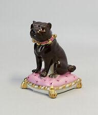 Figure en porcelaine De napoléon Chien sur l'oreiller Kämmer H7cm 9944184