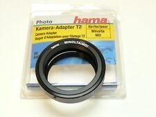 Hama Digital Quality T2 Lens Mount Adapter Ring for Minolta MD Bayonet Camera