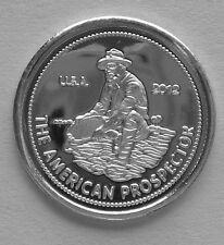 (50) 1 GRAM .999 PURE SILVER 2012 AMERICAN PROSPECTOR ROUNDS