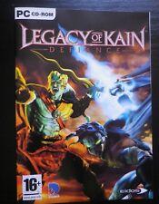 JEU PC CD-ROM : LEGACY OF KAIN Defiance (Eidos COMPLET envoi suivi)