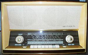 SABA Wildbad 125 Röhrenradio, technisch restauriert