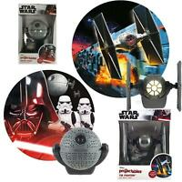 STAR WARS Projectables Led Nightlight 2 Styles Death Star or Tie Fighter NEW!