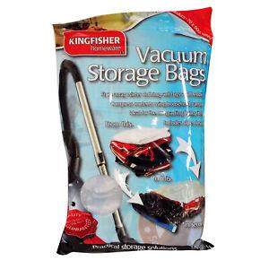 Vacuum Storage Bags - 70 x 90cm - Buy Singles Or Multi Buy Deals - Kingfisher