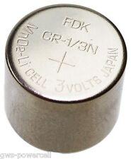 1 x FDK Batterie CR1/3N Lithium 160 mAh 3,0V L 76  DL1/3N CR11108 NEU lose