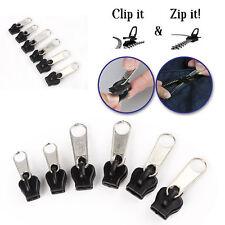 Fix A Zipper Paquete de 6 Cremallera Rescue Reparación Instantánea Kit Recambio