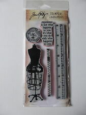 *NEW* TIM HOLTZ Cling Stamps 'SEAMLESS EXPERIENCE'