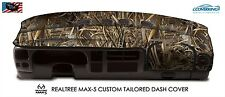 Realtree Max-5 Camo Custom Tailored Dash Cover for Chevy Silverado